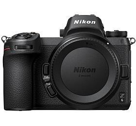 Nikon Z6+ FTZ adaptér -systémový fotoaparát +64GB XQD