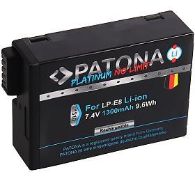 PATONA baterie pro foto Canon LP-E8/LP-E8+ 1300mAh Li-Ion PLATINUM