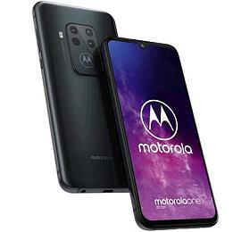 Motorola One Zoom 4+128GB OIS gsm tel. Electric Grey