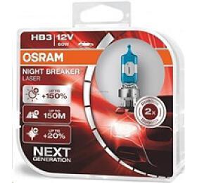OSRAM autožárovka HB3 NIGHT BREAKER® LASER 12V 60W P20D