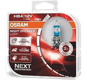 OSRAM autožárovka HB4 NIGHT BREAKER® LASER 12V 54W P22d