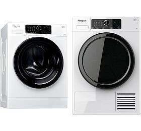 SET Pračka Whirlpool FSCR 10432 SupremeCare + Sušička Whirlpool ST U 92E EU
