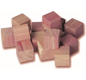 Compactor zcedrového dřeva -kostky dozásuvky