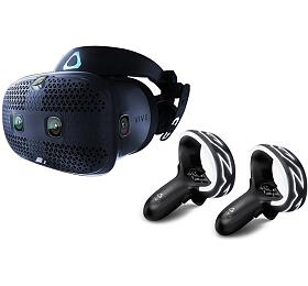 HTC Vive COSMOS Brýle pro virtuální realitu /6x interní snímací kamera /2x ovládač /link box /kompletní kabeláž