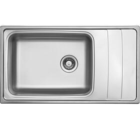 Sinks WAVE 915 V0,8mm leštěný
