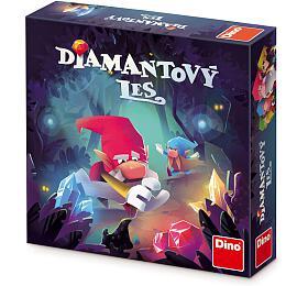 Diamantový les společenská hra vkrabici 24x24x6cm