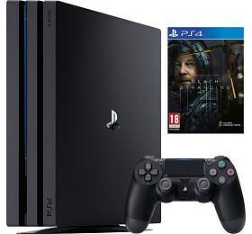 PS4 -Playstation 4Pro černý 1TB Gamma chassis +Death Stranding, 8.11.2019