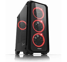 Zalman skříň Z7NEO /Middle tower /ATX /USB 3.0 /USB 2.0 /průhledná bočnice