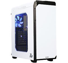 Zalman skříň Z9NEO WHITE /Middle tower /ATX /USB 3.0 /USB 2.0 /průhledná bočnice