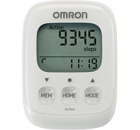 OMRON HJ-325-EW Walking Style IVkrokoměr -bílý