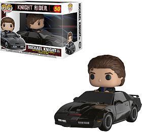Funko POP TVRides: Knight Rider KITT &Michael Knight