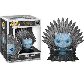 Funko POP Deluxe: Game ofThrones S10 -Night King Sitting onThrone