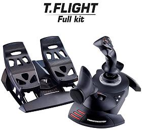 Thrustmaster T.Flight Full Kit, pedálová sada TFRP RUDDER +Joystick Hotas Xpro PC