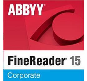 ABBYY FineReader 15Corporate, Single User License