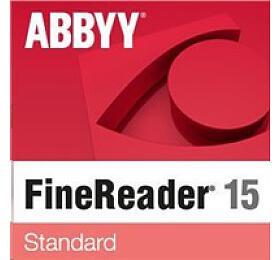 ABBYY FineReader 15Standard, Single User License
