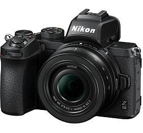 Nikon Z50 +16-50mm f/3,5-6,3 DX- systémový fotoaparát