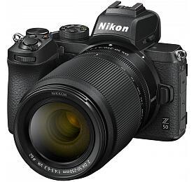 Nikon Z50 +FTZ adaptér +16-50mm f/3,5-6,3 DX- systémový fotoaparát
