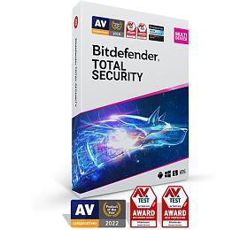 Bitdefender Total Security 5zařízení na1 rok