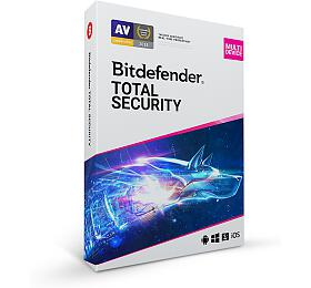 Bitdefender Total Security 2020 10zařízení na3 roky
