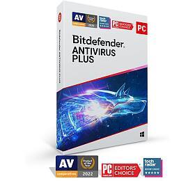 Bitdefender Antivirus Plus 2020 5zařízení na1 rok