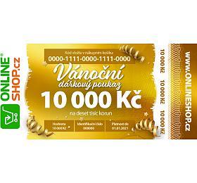 Vánoční on-line poukaz vhodnotě 10000 Kč