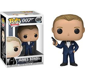 Funko POP Movies: James Bond S2- DanielCraig(CasinoRoyale)