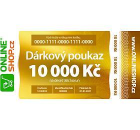 On-line dárkový poukaz vhodnotě 10000 Kč