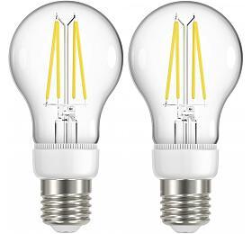 IMMAX NEO 2xSMART LED filament E27 6,3W, teplá bílá, stmívatelná, Zigbee 3.0