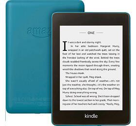 "AMAZON KINDLE PAPERWHITE 42018, 6""8GB E-ink displej, WIFi, Blue, SPONZOROVANÁ VERZE modrá"