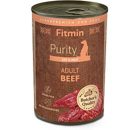 Fitmin dog Purity tin beef 400g