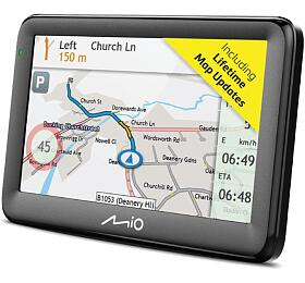 "MIO Pilot 15LM navigace, LCD 5"", mapy EU, Lifetime"