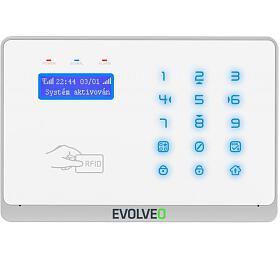 EVOLVEO Salvarix, bezdrátový WiFi&GSM alarm sčtečkou RFID