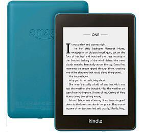 """AMAZON e-book reader Kindle PAPERWHITE 42018/ 6""""E-ink displej/ 32GB/ IPX8/ Wi-Fi/ SPONZOROVANÁ VERZE/ modrá"""