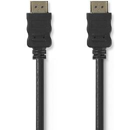 NEDIS HDMI kabel, HDMI 1.4 Akonektor -HDMI 1.4 Akonektor, 1mGT34000BK10