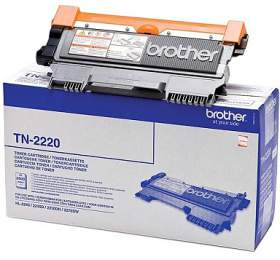Brother TN-2220, 2600 stran originální -černý