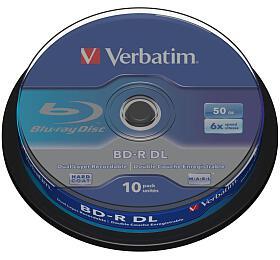 Verbatim BD-R DualLayer 50GB, 6x, 10-cake