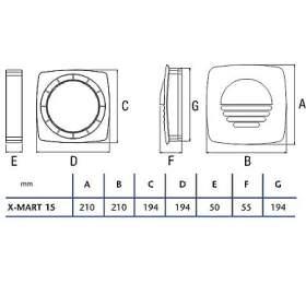 Cata Okenní souprava X-MART-15