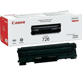 Canon CRG-726, 2,1K stran originální - černá