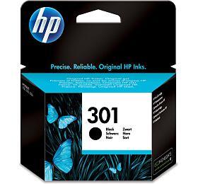 Inkoustová náplň HP No. 301, 190 stran originální - černá