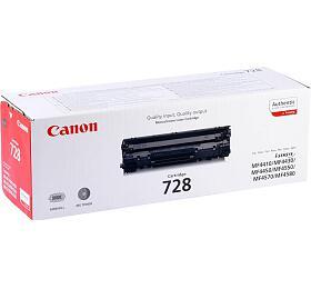 Canon CRG-728, 2,1K stran, originální - černá