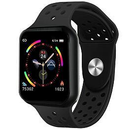"""IMMAX chytré hodinky SW13/ 1.3"""" dotykový TFT LCD/ BT/ IP67/ komp. sAndroid 2.3 /iOS 4.0 avyšší/ CZapp/ černé"""