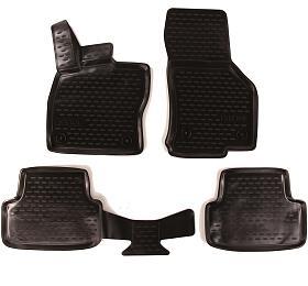 3D Gumové koberce SEAT Leon, 2012->, Typ 5FSIXTOL