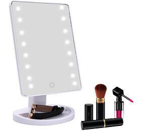 iMirror kosmetické Make-Up zrcátko sLED Dot osvětlením, bílé