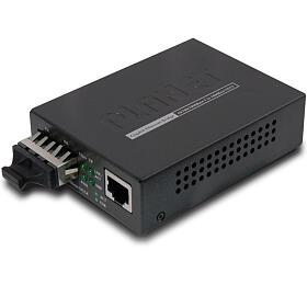 PLANET GT-802 opto konvertor 10/100/1000Base-T -1000Base-SX, SC, multimode, 220/550 m