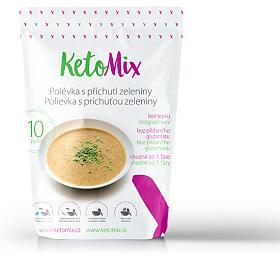 KetoMix Proteinová polévka spříchutí zeleniny 300 g