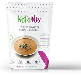 KetoMix Proteinová polévka gulášová 300 g
