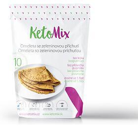 KetoMix Proteinová omeleta sezeleninovou příchutí 320 g