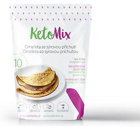 KetoMix Proteinová omeleta sesýrovou příchutí 320 g
