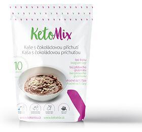 KetoMix Proteinová kaše sčokoládovou příchutí 280 g