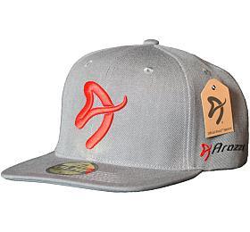 AROZZI Snapback Cap/ snapback kšiltovka/ GLHF samolepka/ šedá